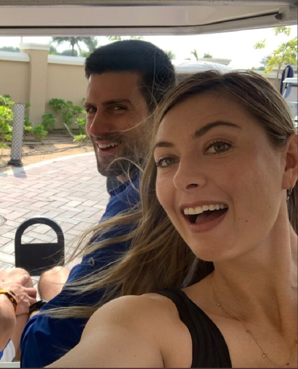 Novak Djokovic On Twitter Amazing Career Amazing Leader Amazing Human Thank You For All You Ve Done For Tennis Mariasharapova I Can T Wait To Watch Your Journey Continue Off Court Https T Co Egfauo1ldg