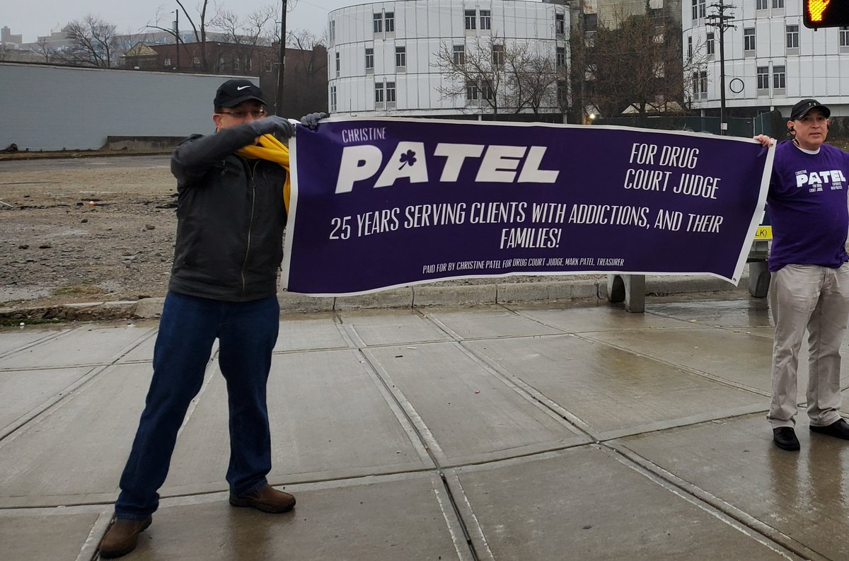This morning we'll be at Glendale-Milford and Reading.  Drive by and wave to us!! #getoutandvote #patel4judgepic.twitter.com/eN3q4ML1tz