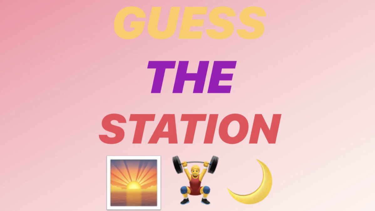 👀🌅 some of you have been guessing this one for weeks - I'll let you be right for once! #guessthestation