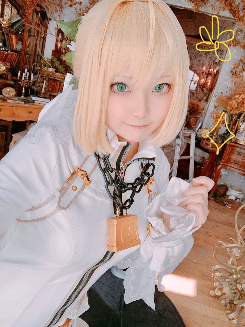 ネロちゃん〜〜〜〜!!セイバーブライドの束縛Ver.と解放Ver.💕💕写真集用です!
