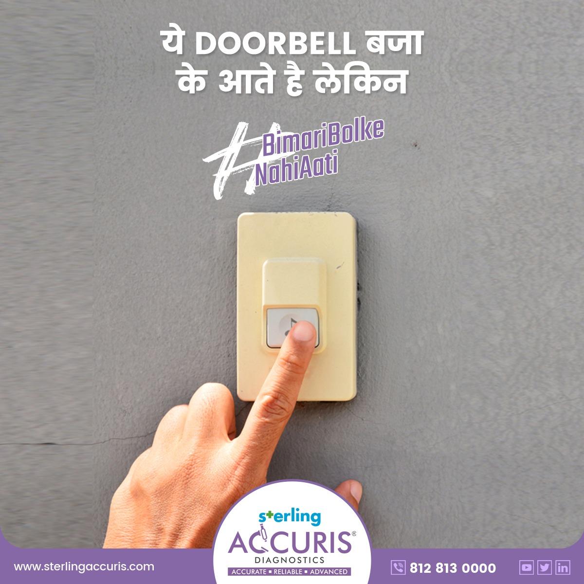 बीमारी कभी doorbell नहीं बजाती |   वो सीधे अंदर आ जाती है |  #bimaribolkenahiaati #pathlab #healthcheckup #pathlab #health #healthandwellness #gujarat #india #instahealth #instagood #ahemdabad #healthcare #pathologistspic.twitter.com/IQ30gRvLOl