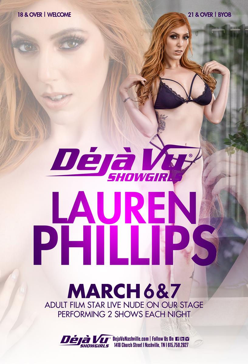 test Twitter Media - #RT @DejavuNashville: Lauren Phillips  @laurenfillsup  March 6 and 7  🔥🔥🔥 . . . #Laurenphillips #entertainers #worldfamous #partytime #dejavushowgirls #nashville https://t.co/NvUg2IAHs6 https://t.co/EbEqQ5kSrp