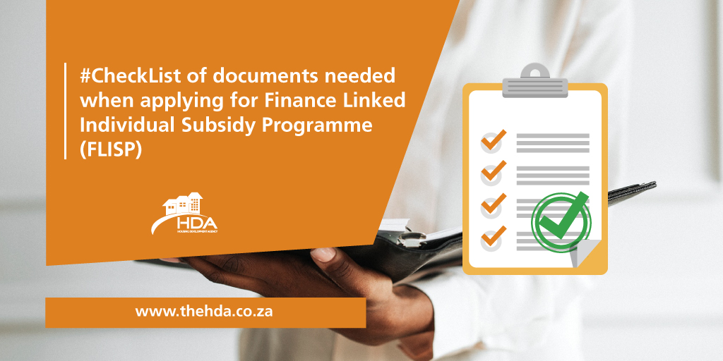 #CheckList of documents needed when applying for FLISP.  - RSA Bar coded ID or Bar Coded permanent residence permit. - Birth certificates/RSA IDs of all financial dependents (where applicable). - Proof of foster children guardianship (where applicable).<br>http://pic.twitter.com/iJRnpsdBs7