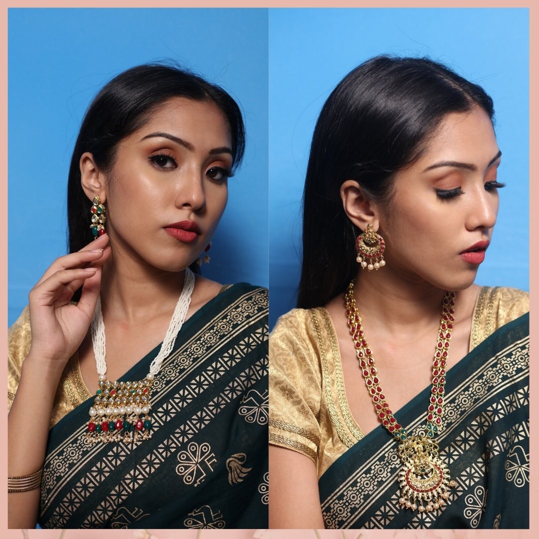 Comment down below and let us know which Necklace set you would like to pair up with your lovely attire. Shop now and get up to 80% off. Product details & price - http://bit.ly/2ux1NpJ . . #ClassicSale #RelivIndia #Trendy #NecklaceSet  #Ethnicwear #Mirrawpic.twitter.com/kWPzNadBH5