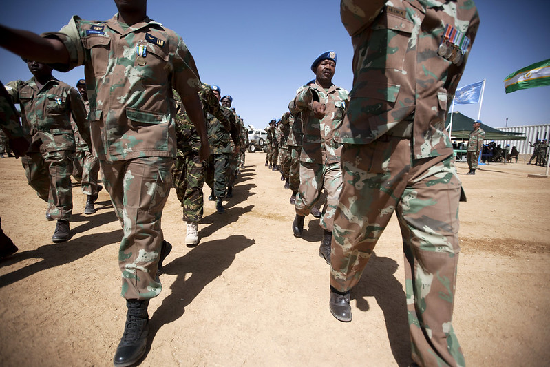 Very few soldiers spoke openly of #PTSD although this was evident in their discourse. Only 10% of those returning from PK missions typically seek treatment for #PTSD #postdeployment #SANDF #peacekeepers @LindyHeinecken @WilenNina @EgmontInstitute https://bit.ly/3a8VdVl