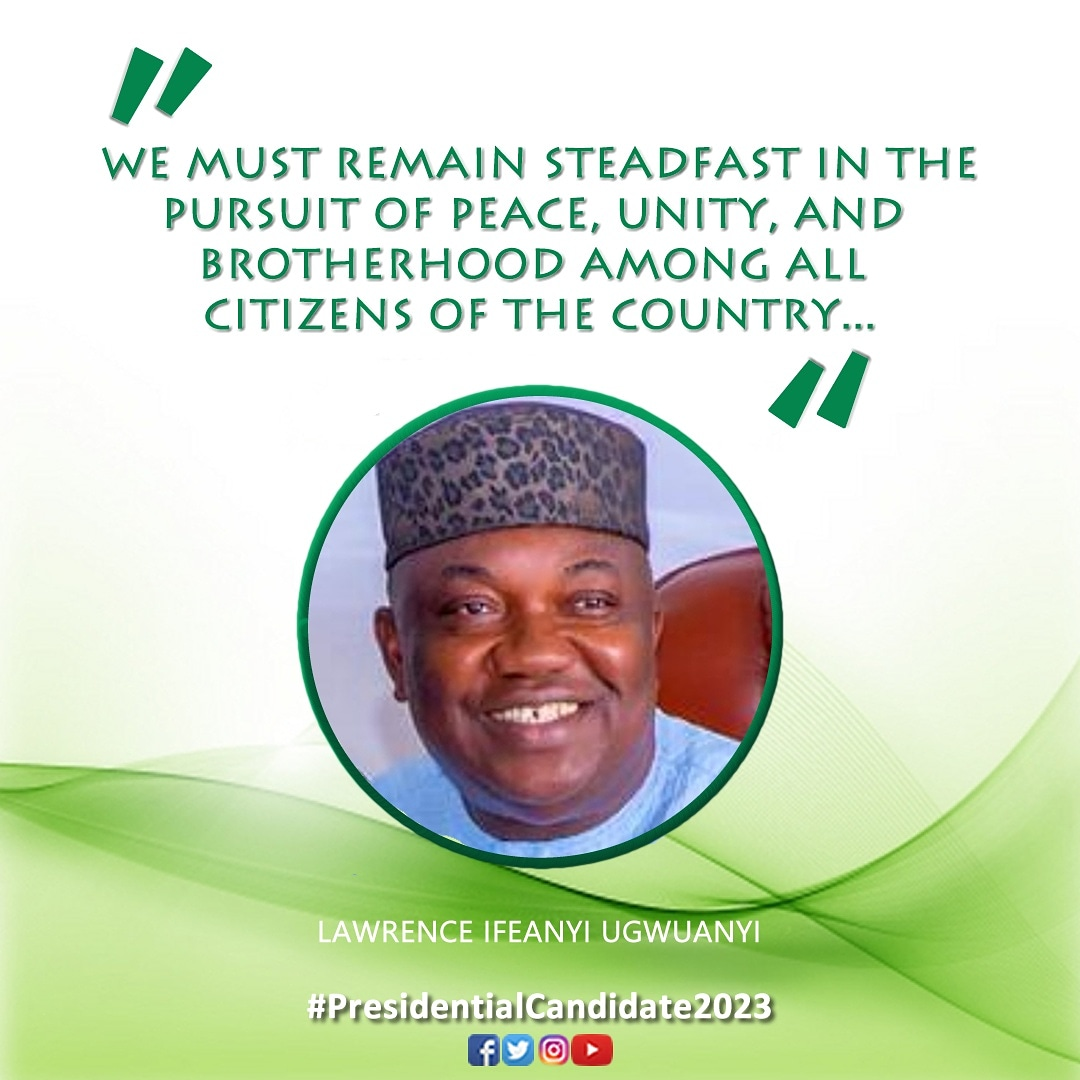 [#PC2023/07]: LAWRENCE IFEANYI UGWUANYI @GovUgwuanyi - IS HE YOUR PRESIDENTIAL CANDIDATE 2023? . IF YES: COMMENT  IF NO: COMMENT  Our Voice | Our PVC | Our Choice! . #pc2023 #presidential #candidate #presidentialcandidate2023 #presidentialcandidate #nigeria #nigeriadecides #votepic.twitter.com/khXmQ8YgYY