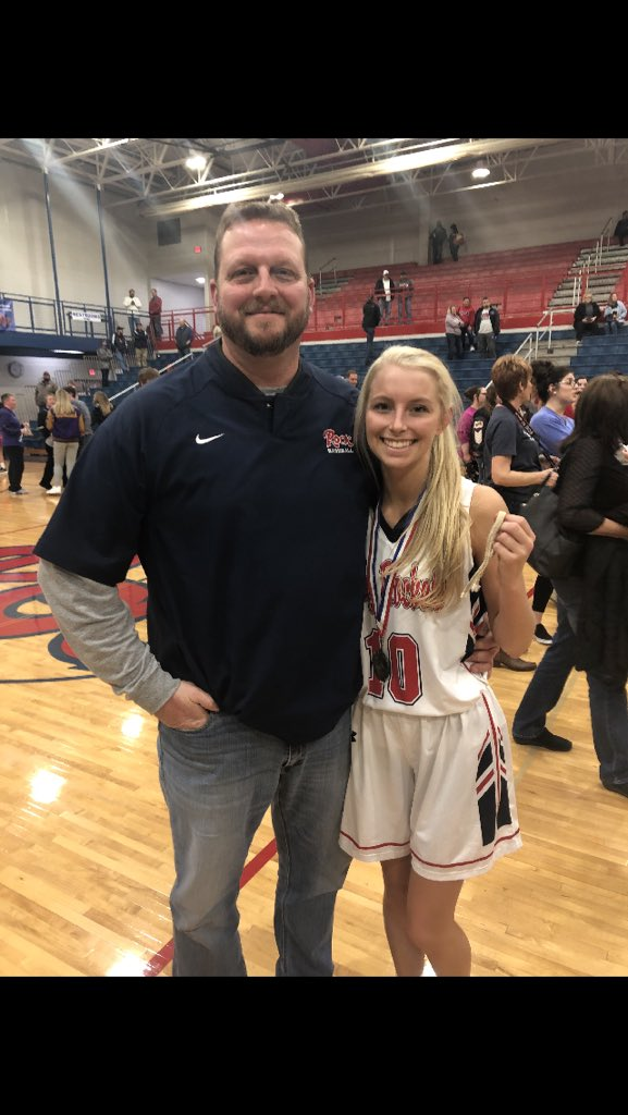 Don't let the looks and sweetness fool you @lindseyjones10_  is a warrior! #prouddad,#GoRockpic.twitter.com/eZ6Tm2awmu