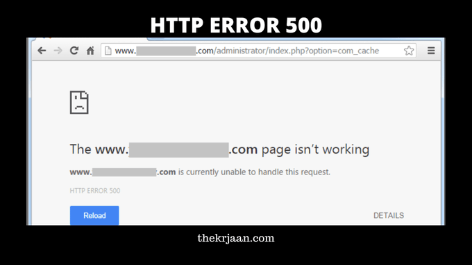 HTTP Error 500 | What is It And How To Fix Error 500
