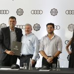 Image for the Tweet beginning: 𝐄𝐌𝐏𝐑𝐄𝐒𝐀𝐑𝐈𝐀𝐋𝐄𝐒 | 🚙  Audi, nuevo sponsor