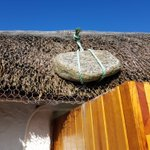 Image for the Tweet beginning: The marram thatch of Howmore