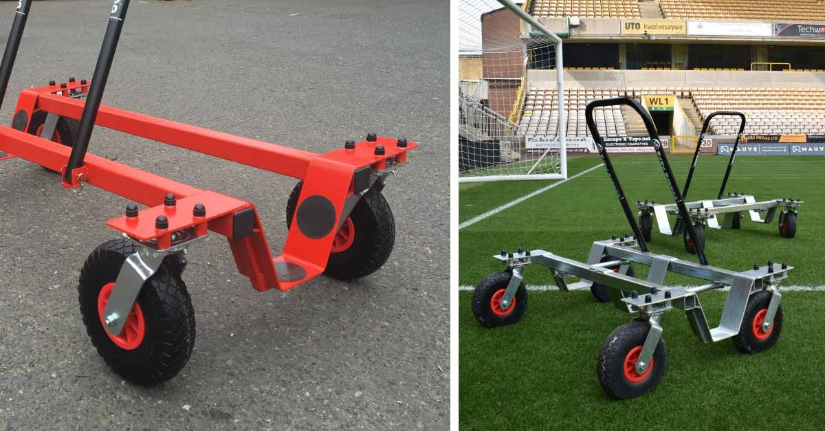 Premium Football Training Goal trolleys powder-coated in team colours about to leave the factory https://buff.ly/2SibeCl #football #FootballTraining #goalspic.twitter.com/tifNvoMwrr