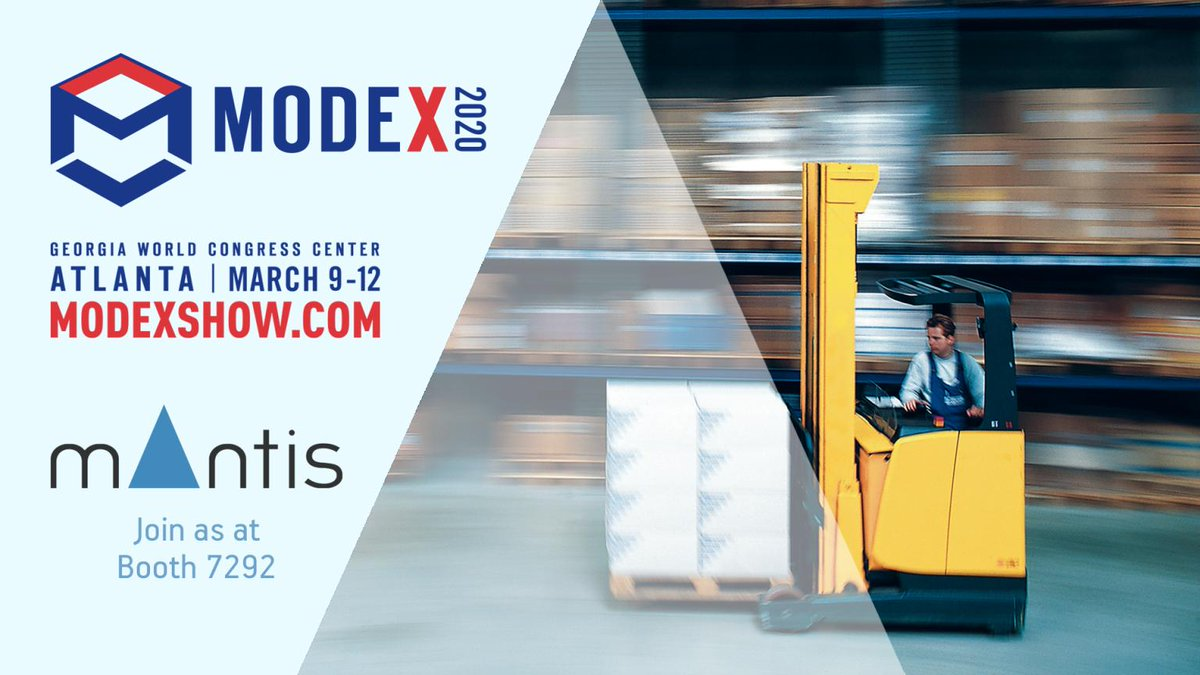 Visit https://t.co/CTntDK3ppr booth #7292 at  #modex2020 and find out how our #flexible and #affordable #automations can increase your  #warehouse #productivity #LVS #WMS #LogisticsVisionSuite https://t.co/HtniRipvlH https://t.co/uO6I9RZecw