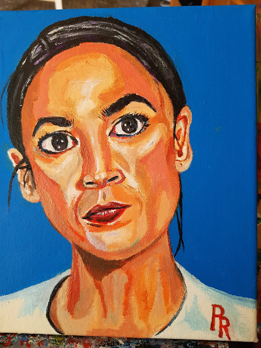 Done. My current political hero. A brave warrior of truth and justice. Thank you AOC 🤗🤗❤❤