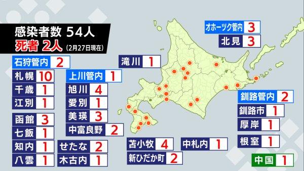 北海道 コロナ 感染 者 数 今日 新型コロナウイルス...