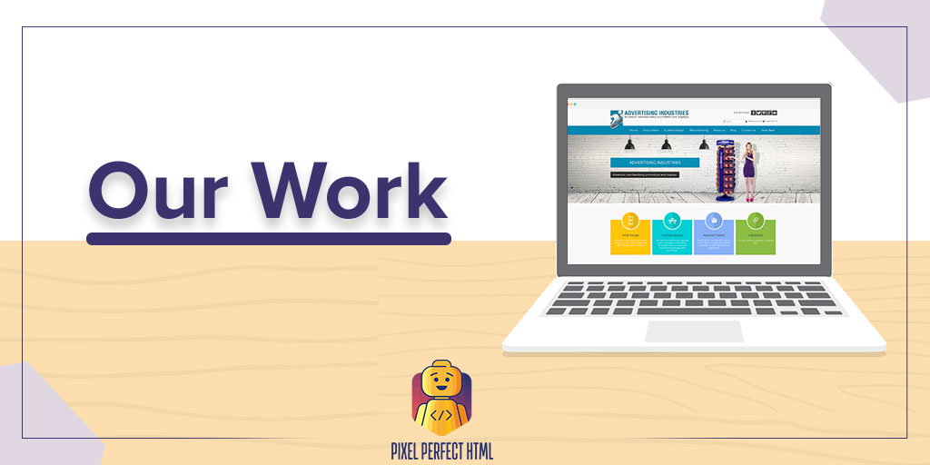 """""""Only one way to do great work is to love what you do.""""  At #PixelPerfectHTML, we love our work so our clients love us. We have successfully done a variety of different projects. Here, look at some of our work:   #Portfolio #OurWork #FrontEndDevelopment"""