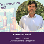 Image for the Tweet beginning: We caught up with Francisco