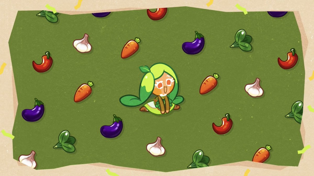 (Ovenbreak) Give Spinach Cookie: Green Sugar Crystal or Fresh Spring Leaf for +15 Affection Points!   Place her in the Lobby for Crystals!  <br>http://pic.twitter.com/beydqe2LJ2