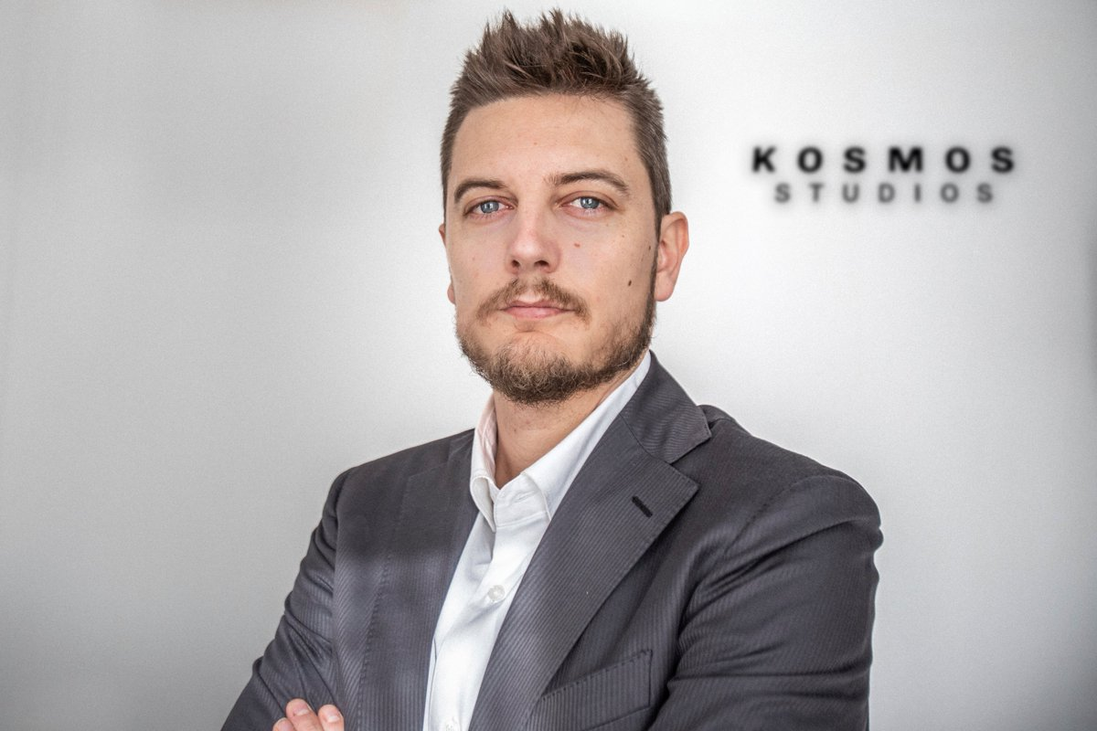 Oriol Querol, new Managing Director of Kosmos Studios 🎥 More info ➡️ ow.ly/5ny650yxwh5