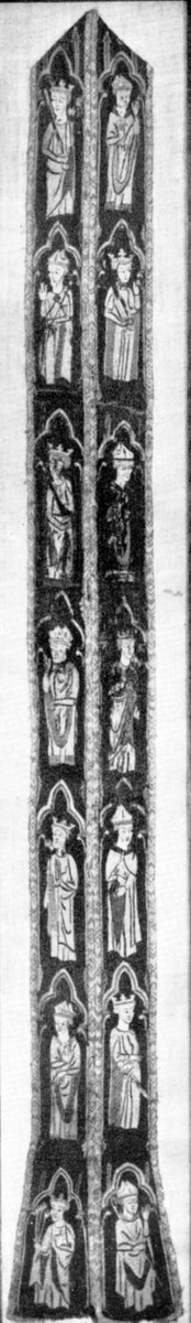 Stole with Figures of Kings and Bishops  #metmuseum #MedievalArt