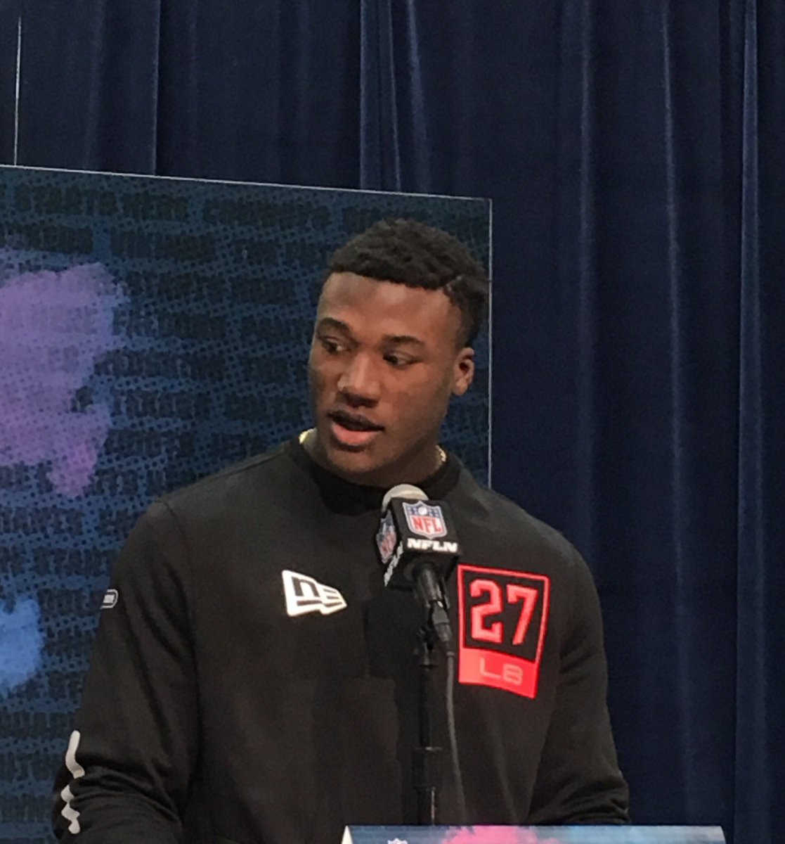 .@OU_Football's Kenneth Murray: I truly believe I'm the best inside linebacker in this draft. ... I came here to dominate.  #NFLCombine<br>http://pic.twitter.com/KVDF4ShIZ9