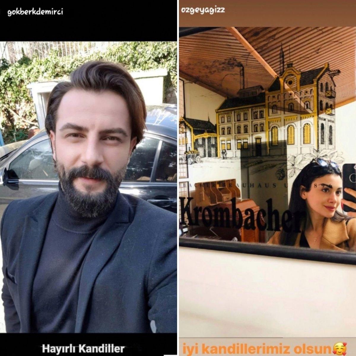 Gökberk and Özge sharing their stories today. I hope you have a nice day lovely guys @GkberkDemirci @yagizozge #IGStories #selfietime #GökberkDemirci #ÖzgeYağiz #ÖzBerk #ReyEm #Yeminpic.twitter.com/fDmbzOCzTM