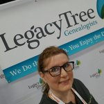 Image for the Tweet beginning: Day 2 RootsTech I'll be at