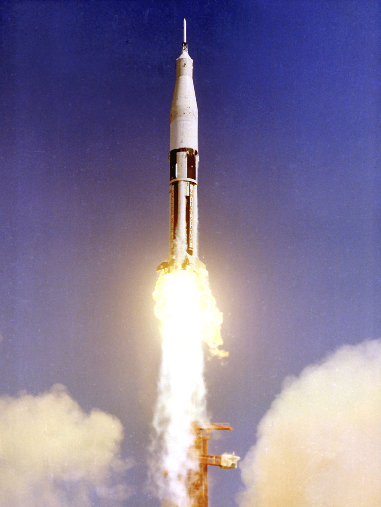 First Flight of Saturn IB via NASA https://ift.tt/2w8pPrqpic.twitter.com/wsBINyY2F8