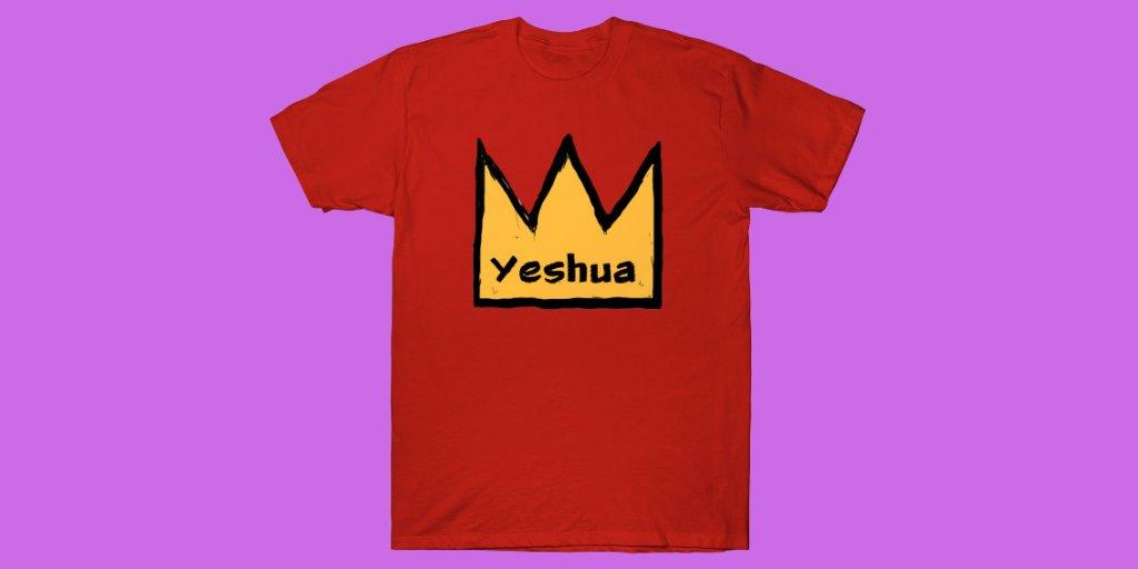 https://www.teepublic.com/t-shirt/8186829-crown-yeshua… #yeshua #yeshuahamashia #yeshuahamashiach #yeshuasaves #yeshua#streetapologetics  #womeninapologetics #apologetics #urbanapologetics #acts17apologetics #christianapologeticspic.twitter.com/m9P0xEK7St