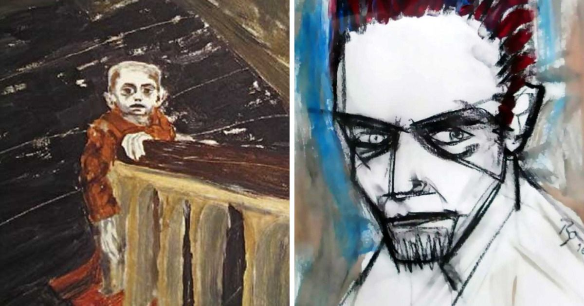 Paintings By David Bowie https://buff.ly/2HYvAuipic.twitter.com/buOq0Dyp1A
