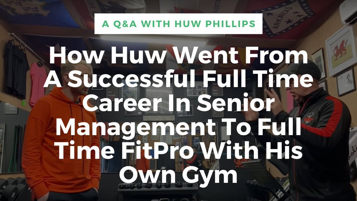Going From A Successful Full Time Career In Senior Management To Full Time FitPro With His Own Gym  READ THE FULL POST HERE: https://www.fitproleadgen.com/going-from-a-full-time-career-in-senior-management-to-full-time-fitpro/ …  #fitpro #personaltrainer #fitnessmarketing #fitnessbusiness #personaltrainermarketing #fitnessbusinessmarketing #personaltraining pic.twitter.com/VLbIpAN9y0