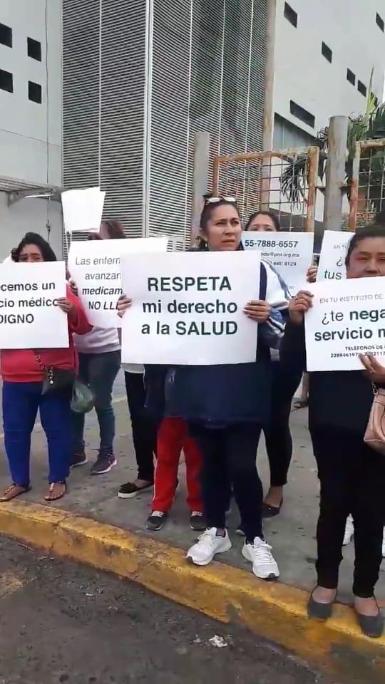 Se desligan de manifestación