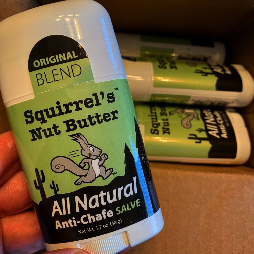 When you are looking at all the training and races you will be doing over the next few months, not to mention it will start becoming hotter, you are soooo glad the box of @squirrelsnutbut has been delivered! #EatRunMS #squirrelsnutbutter #nochafing #run #ultrarunning #ultrarunner<br>http://pic.twitter.com/4ZGyurLOMy