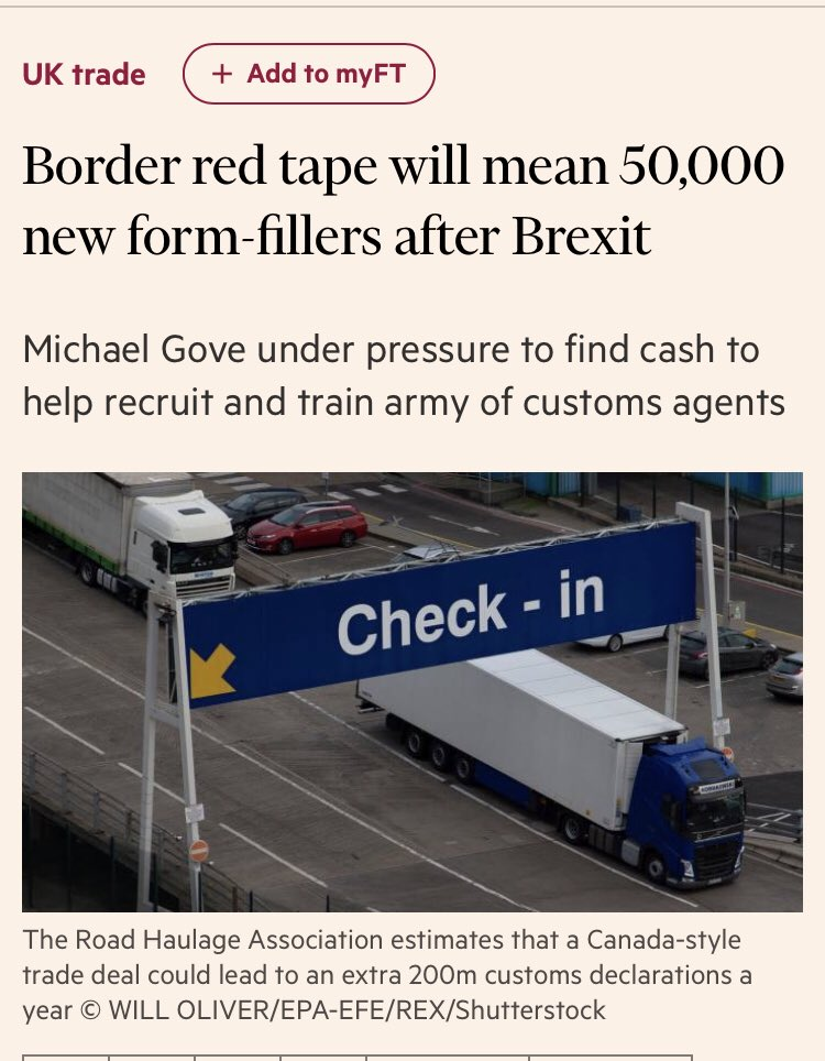 Vote Leave's promise to (squints at notes) *cut red tape* is going swimmingly it seems ft.com/content/6cf7bb…