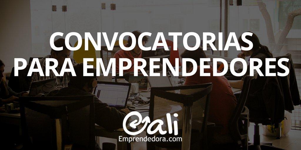 Saca provecho de todas las convocatorias para esta #CaliEmprendedora http://bit.ly/ConvocatoriasE #Emprender #Emprendimiento #CaliCO