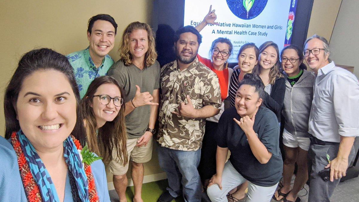 Image for the Tweet beginning: Mahalo nui @CSS_UHManoa Native Hawaiian