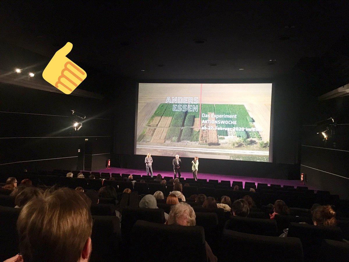 Filmtipp : Anders essen - das Experiment. Anschauen & weitersagen! #transformation #landwirtschaft #lebensmittel #agrarpolitikpic.twitter.com/QGGqkPYXJC