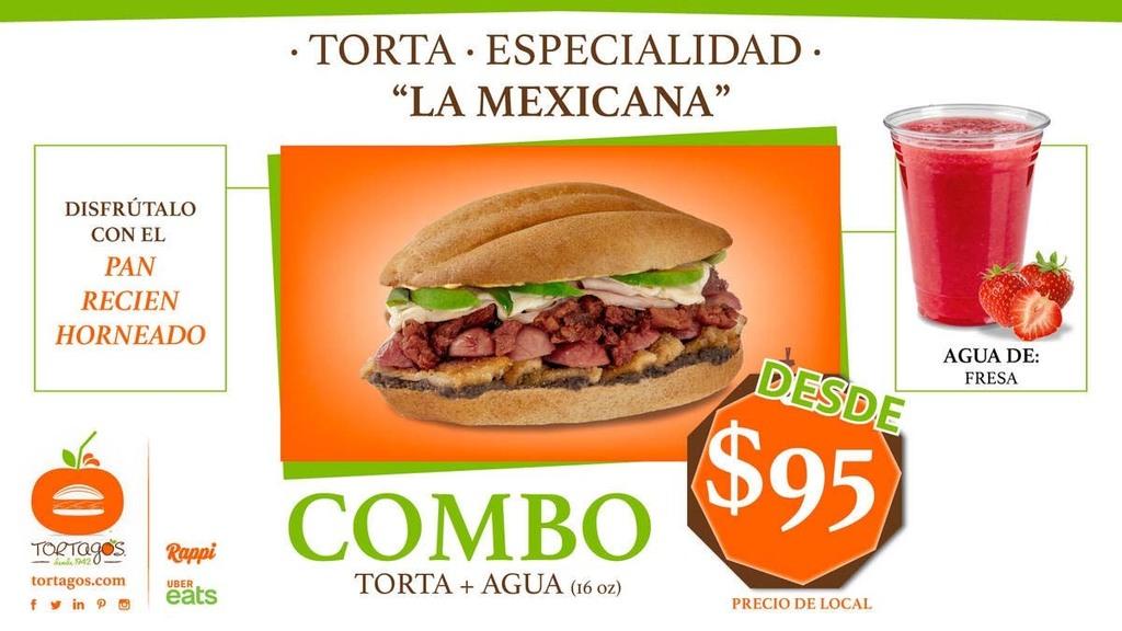 ¡Es Mexicana, y en pan recién horneado! 100% deliciosa.  #acomertorta #venatortagos o busca Tortagosen tu app favorita.  https://tortagos.compic.twitter.com/J36uicmIVC