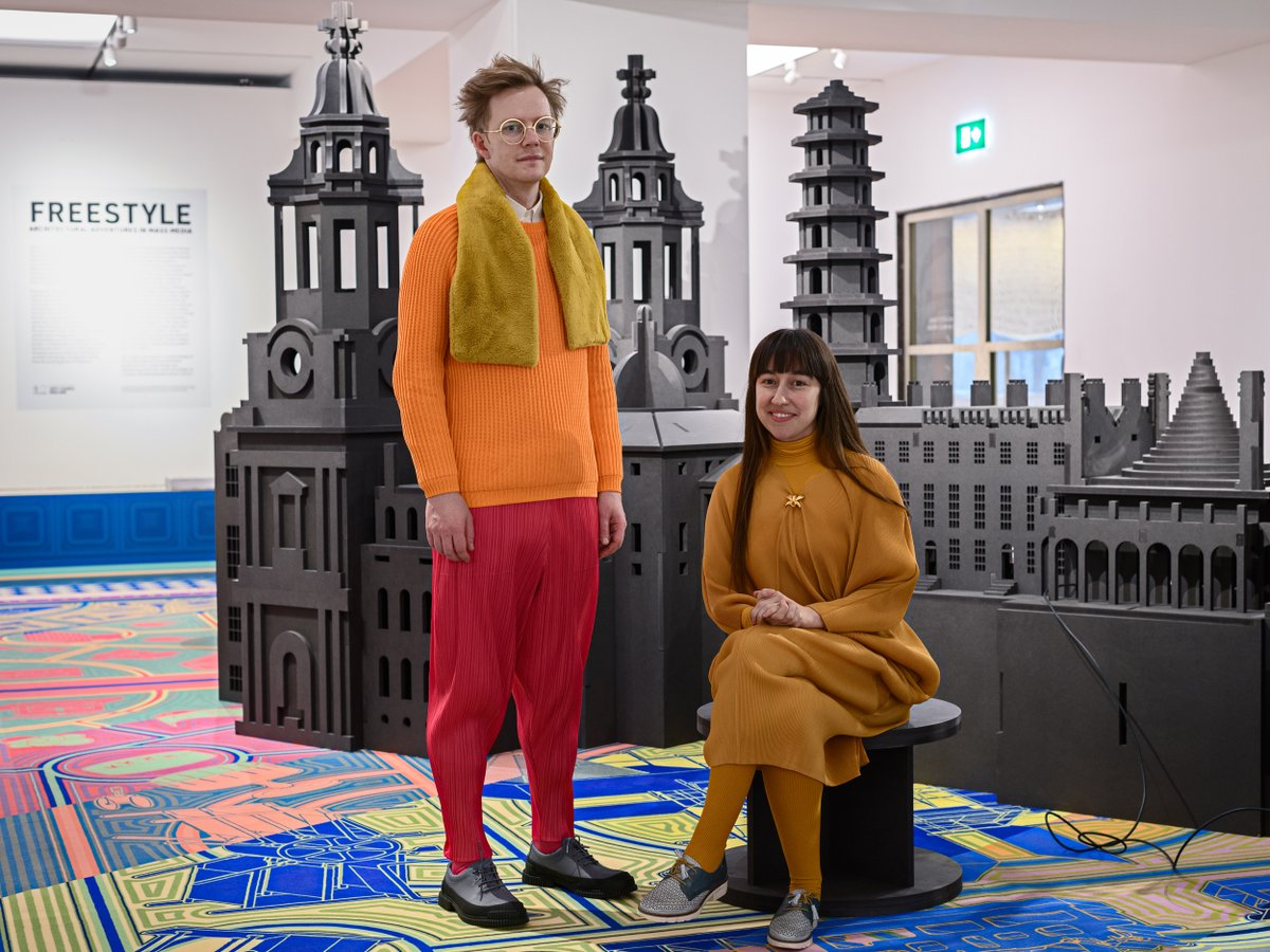 Catch the first @RIBA talk in our brand new #RIBAFreestyle season where the designers @SpacePopular will take us on a journey from 'Printing Press to #Pinterest' looking at the links between media, #architecture & #style across history - followed by Q&A with @ollywainwright