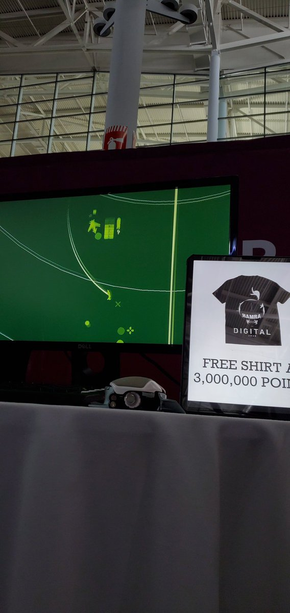 #PAXEast  We are giving away a free shirt to the FIRST person to get to 3,000,000 EVERY DAY. Come to booth 31063 and give it a shot!<br>http://pic.twitter.com/ykddKyEJ6r