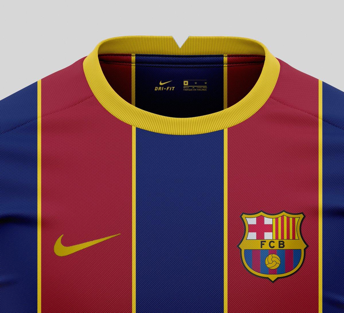 On Twitter Fc Barcelona 2020 21 Home Kit