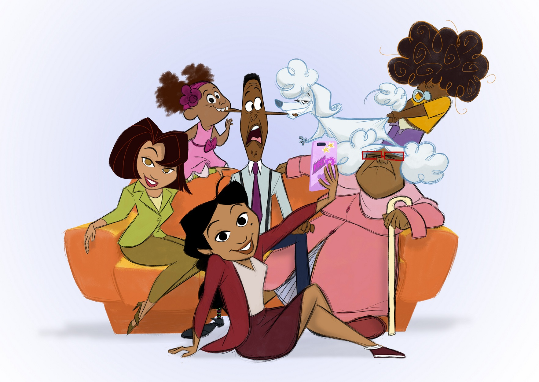 The Proud Family : Louder and Prouder [Disney Television - 2021] ERzBV4CU8AAxePM?format=jpg&name=large