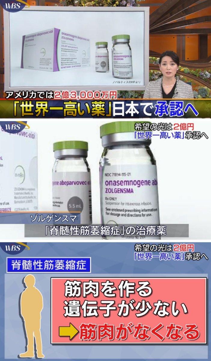 薬価 ゾルゲンスマ