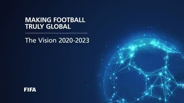 """Making football truly global, at every level, is the core task for FIFA to pursue over the coming years"" - FIFA President Gianni Infantino  Learn more about the president's vision here ℹ️ https://t.co/Ujy24bzo8W https://t.co/a8HzkRpblJ"