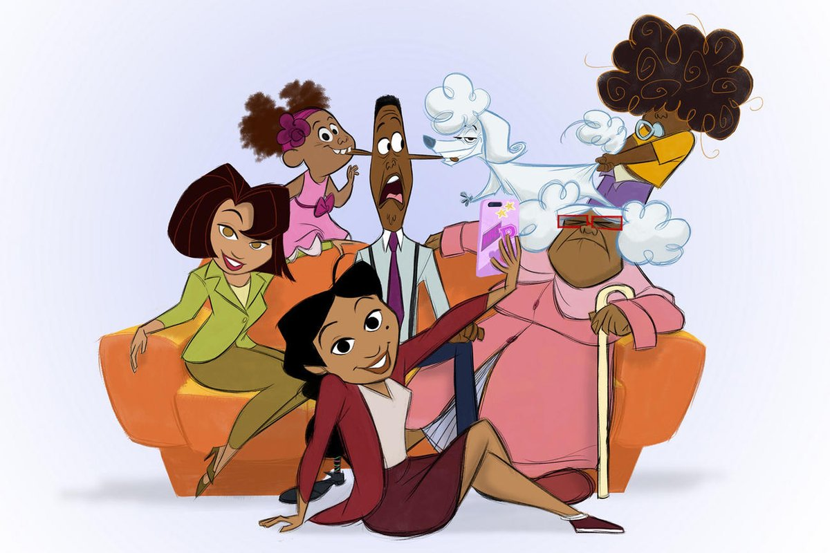 The Proud Family revival with original voice cast is a go at @disneyplus bit.ly/2Tmb8ck