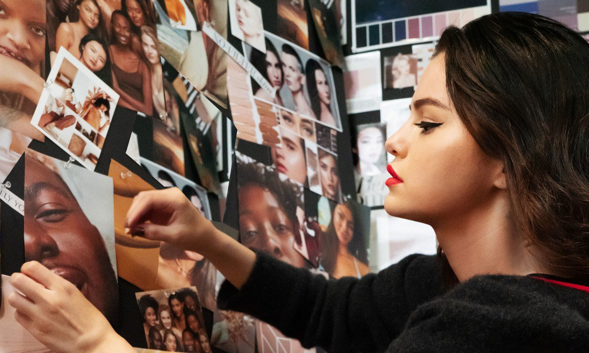 Selena X Rare Beauty https://t.co/ssGVj0m0sB