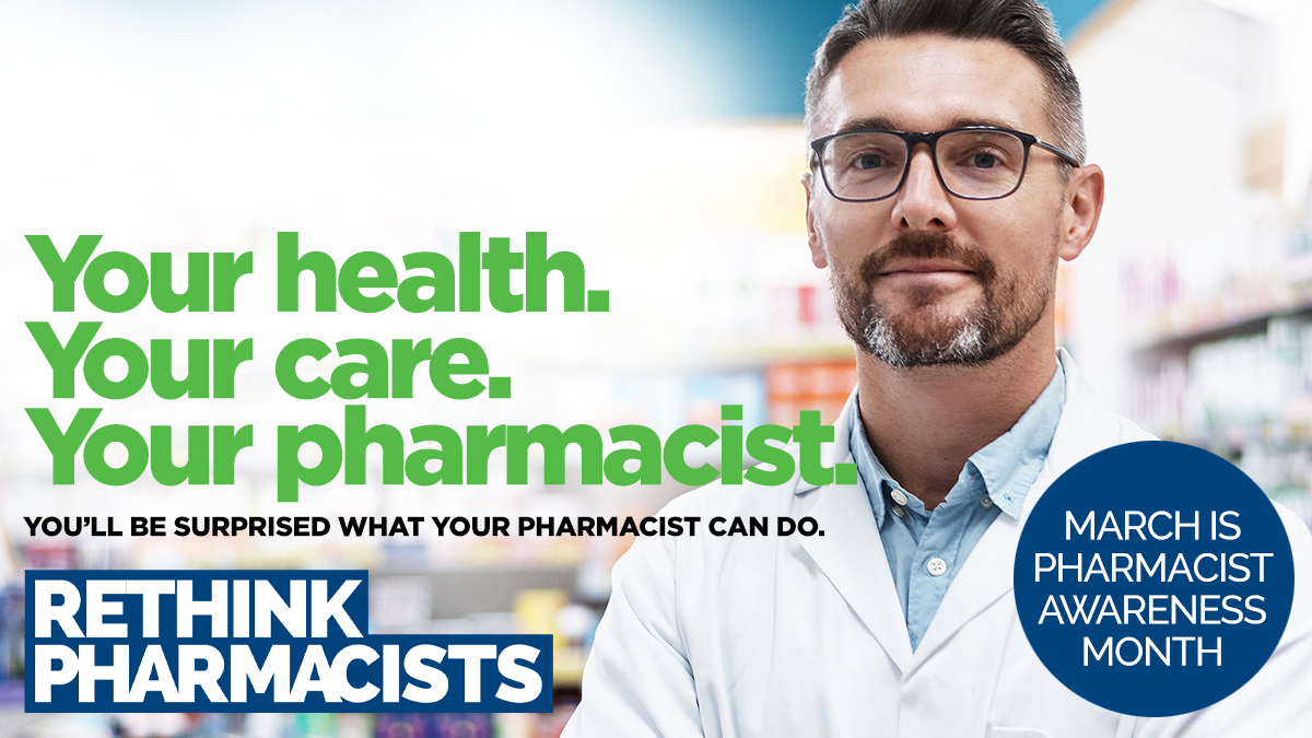 #DYK  your #pharmacist  can play a big role in helping you quit smoking? https://www.skpharmacists.ca/site/quit-smoking  …  #RethinkPharmacists ! #PAM2020  #ConnectedCare