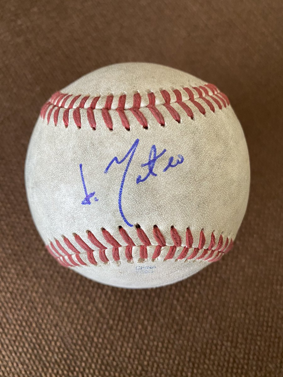 Prize Giveaway Alert! Oakland A's Jorge Mateo autographed baseball. He is one of the A's top prospects. To enter follow me, tag a friend and retweet. Winner announced tonight! @Athletics @MLBPipeline #Contest #ContestAlert #GiveawayAlert #RootedInOakland #baseball #PayItForward<br>http://pic.twitter.com/2LJ1wesyvC