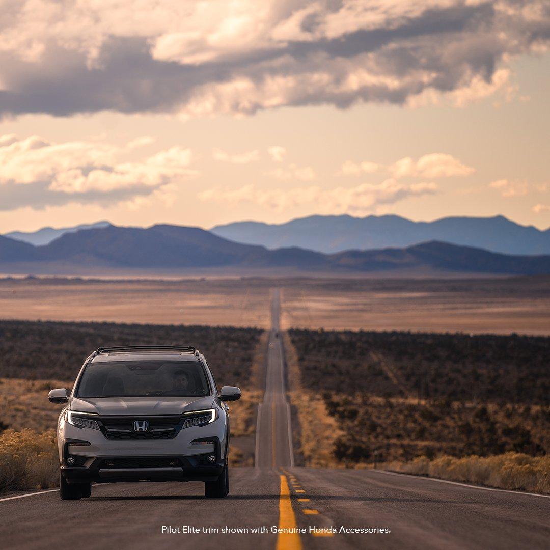 Go the distance. #HondaPilot<br>http://pic.twitter.com/RykqaLavDn