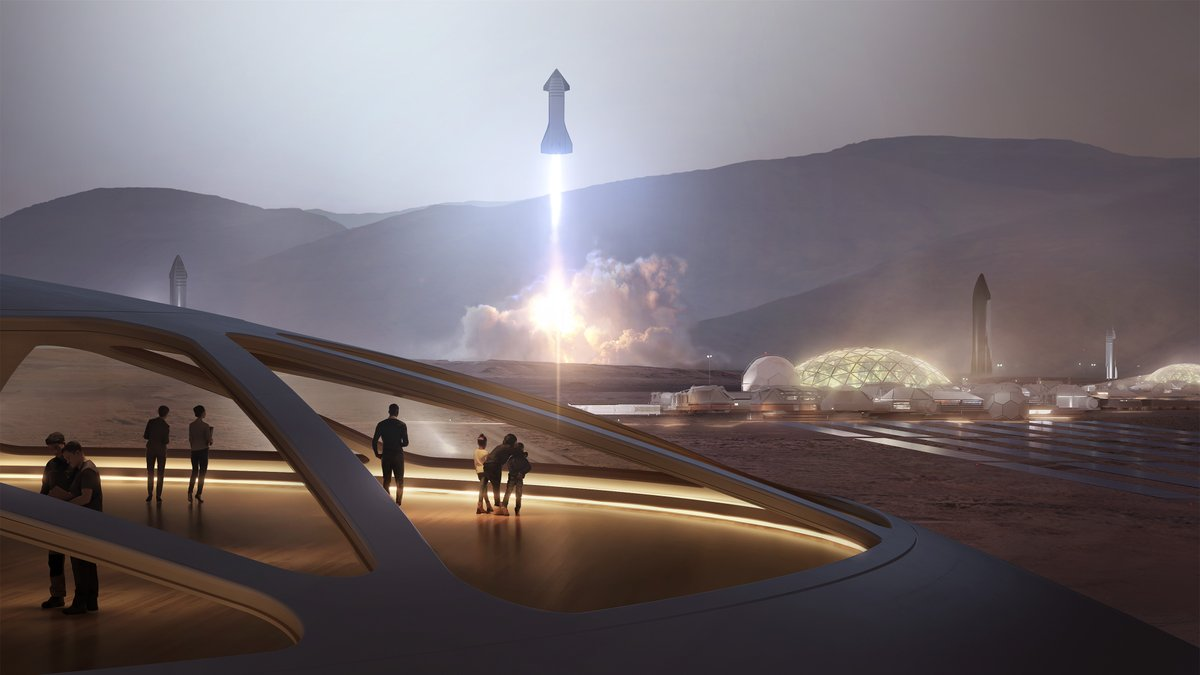SpaceX: Raptor will power Starship, a fully reusable transportation system that will carry crew and cargo to Earth orbit, the Moon, Mars, and beyond → http://spacex.com/starshippic.twitter.com/wBqHbAhecG