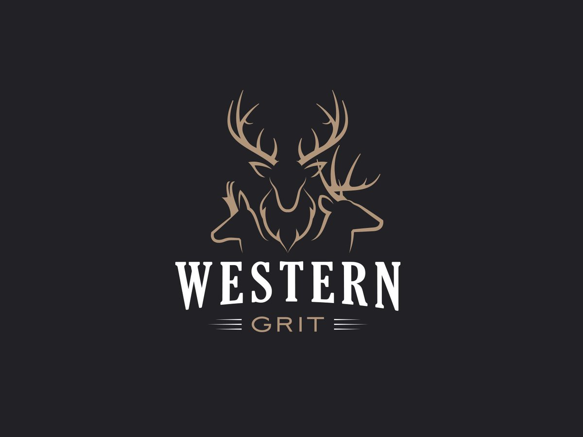 Western Grit logo design. ___________  Are you looking for a logo (re)design? Feel free to reach out!  studio@fullstop360.com |   #graphicdesign #illustration #design #art #graphic #designer #designers #creativity #logo #logodesign #brandidentity
